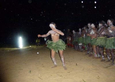 Bwiti women - opening ceremony